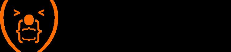 dark company logo
