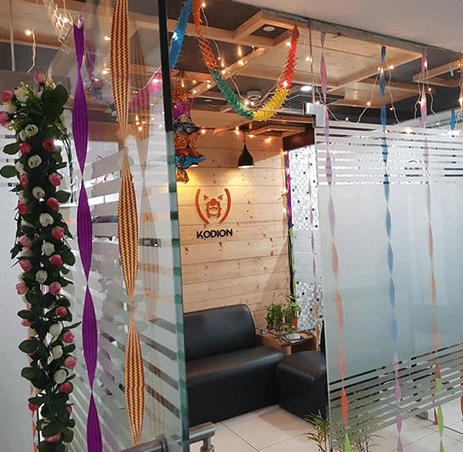 Internal view of Office